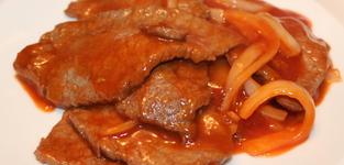46. Rundvlees op Chinese wijze (zoetzuur)