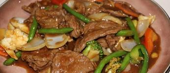 48. Rundvlees met diverse groenten