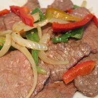 48. Rundvlees pikant gekruid