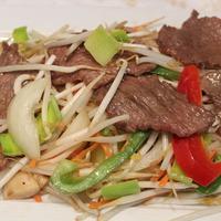 49. Chop choy met rundvlees