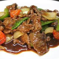 50. Rundvlees in zwarte pepersaus
