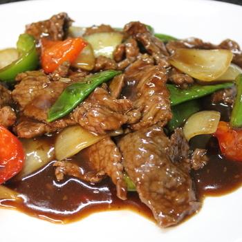 51. Rundvlees in zwarte pepersaus