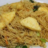 35. Mihoen met curry en ananas (vegi)