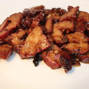 56. Gecarameliseerd geroosterd varkensvlees