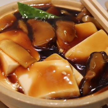72. Tofu met Chinese champignons