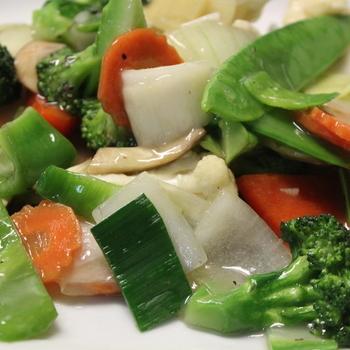 Gebakken groenten